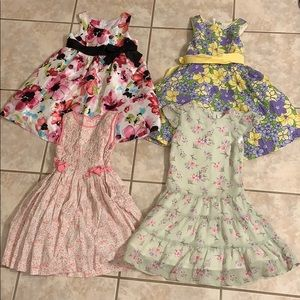 Lot of 4 Sized 5 Dresses